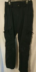 5.11 Tactical Series Ems Style Navy Blue Size 34  x  34 Lots of Pockets for Gear