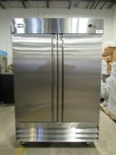 Saba New Commercial Refrigerator, stainless steel,120 volt,54x32x83