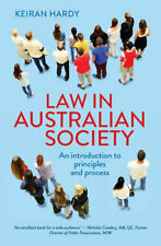 NEW Law in Australian Society By Keiran Hardy Paperback Free Shipping