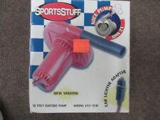 New Sportstuff Tube 12 Volt Electric Air Pump 57-1510