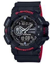 Casio G Shock *GA400HR-1A Heritage Red and Black Anadigi Watch for Men