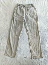 Zara Kids Collection Size 10 Pants 140 cm Linen Blend Elastic Waist Stretch EUC