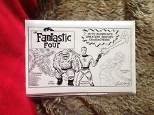 FANTASTIC FOUR # 1 BLACK & WHITE HIDDEN GEM KIRBY VARIANT  MARVEL COMICS