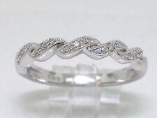 Rausverkauf   Diamant Ring Weißgold Gold 15 Diamanten 0,10ct