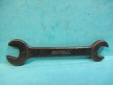"""Ford SCRIPT car M OPEN END SMALL 5/8"""" & 1/2"""" Wrench Auto TOOL KIT ORIGINAL USA"""