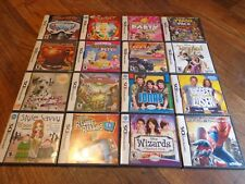 LOT OF 16 NINTENDO DS GAMES (LOOK) LOT #1