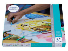 Van Gogh Pastel Suave juego de 36 Colores Retrato