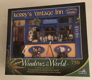 Mega 750 pc puzzle - Kerry's Vintage Inn - WINDOWS TO THE WORLD - Complete