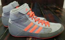 Adidas wrestling shoes Cg3803 Size 5 Gray & Orange