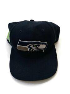 '47 Brand NFL Seattle Seahawks Navy Blue Strapback Adjustable Cap