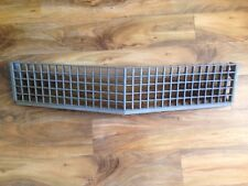 PLASTIC CADILLAC DEVILLE FRONT GRILL FLEETWOOD BROUGHAM GM PART # 1614185 GRILLE