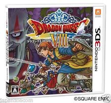 Used Dragon Quest VIII: Journey of the Cursed NINTENDO 3DS JAPANESE  IMPORT