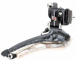Campagnolo Record 11 Speed Carbon Front Derailleur Braze-On Bottom Road Bike Tri