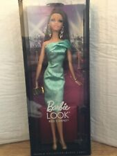 Barbie Look Red Carpet doll Green dress Model muse body