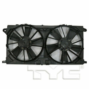 TYC Dual Radiator and Condenser Fan For 2015-2018 Ford F-150 18-19 EXPEDITION