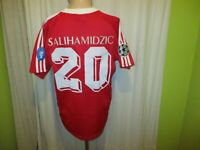 "FC Bayern München Adidas CL.Sieger Trikot 2001 ""OPEL"" + Nr.20 Salihamidzic Gr.M"