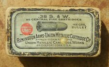 Vintage Umc-Remington .38 S&W ammo box