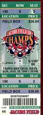 Baseball Ticket Cleveland Indians 1999 8/29 Tampa Bay Devil Rays
