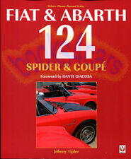 FIAT 124 SPIDER BOOK TIPLER HISTORY COUPE ABARTH GIACOSA