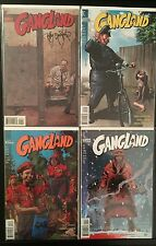 GANGLAND #1-4 NM 1998 Signed Tim Bradstreet DC VERTIGO Comic Lot Brubaker