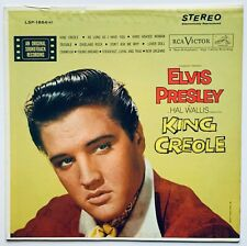 ELVIS PRESLEY- USA 1964 REISSUE KING CREOLE. WHITE TOP LABEL.