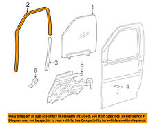 GM OEM Front Door-Run Channel Left 25759241