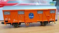 Carro GS chiuso Arancione della DB due Assi Chiquita - HO 1:87 Rivarossi HR6394