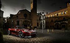 Encadrée Imprimer-Aston Martin M310 Vanquish supercar (Photo Poster Art Voiture Audi)