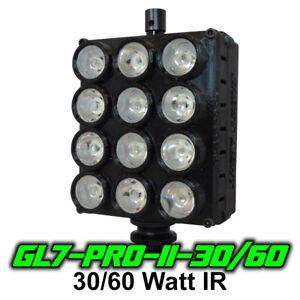 Ghost Light™ GL7-PRO-II-30/60 Watt IR LED Light for Infrared & Full Spectrum Cam