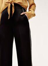 NWT Arrive Clothing Satin Wide Leg Pants - Noir (Black), XL