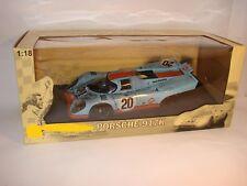 1/18 Porsche 917K Steve McQueen OVP,  Movie Box LeMans 1971, after the Race