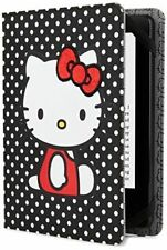 Hello Kitty Polka Dot Cover Black Kindle, Touch, Paperwhite, Nook Simple Touch