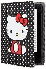Hello Kitty Polka Dot Cover Black (Kindle Paperwhite, Kindle & Kindle Touch)