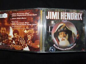 MAXI CD JIMI HENDRIX / MERRY CHRISTMAS AND HAPPY NEW YEAR /