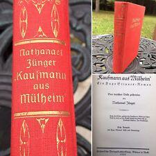 Antique German Hardcover Book 1925 Kaufmann aus Mülheim - ein Hugo Stinnes