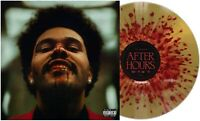 The Weeknd - After Hours Exclusive Limited Edition Gold Red Splatter Vinyl LP
