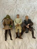 "1998 -2001 LFL Star Wars Figures 4"" Hasbro"