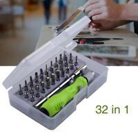 Tournevis 32 dans 1 kit de réparation d'outils micro ordinateur portable