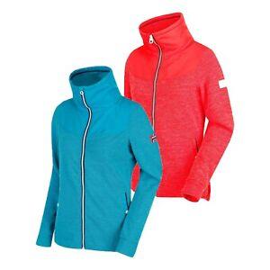 Womens Regatta Cyrilla Full Zip Sporty Golf Walking Fleece Jacket Coat RRP £50