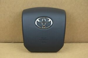 Toyota 4Runner Tacoma Tundra Sequoia Left Driver Steering Wheel Airbag Black OEM