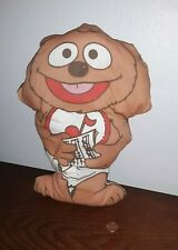 """Vintage Muppets Muppet Babies Rowlf the Dog Plush Toy 12"""" Doll"""