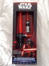 KYLO REN Bladebuilders Lightsaber Electrónico Espada Laser Star Wars