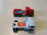 1981 Hot Wheels Great American Truck Race Movin On + Hammer Down Rare Blackwalls