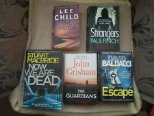 Job Lot Bundle 5 books Crime & Thriller Suspense Mystery