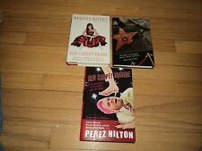 3 Red Carpet Paparazzi Books Mellisa Rivers & Perez Hilton .Com & Fame Junkies