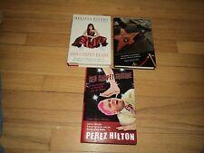 3 Red Carpet Paparazzi Books Mellisa Rivers & Perez Hilton .Com & Fame Junkies