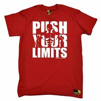 Push Your Limits T-SHIRT tee bodybuilding funny birthday gift present for him