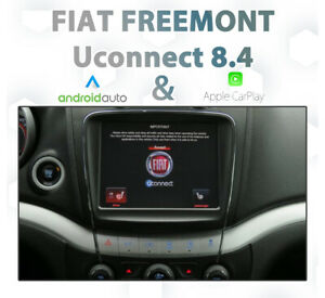 FIAT Freemont Uconnect 8.4 - CarPlay & Android auto Integration add on