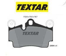 2369402 Kit pastiglie freno a disco post.Audi-Porsche-Vw (MARCA-TEXTAR)