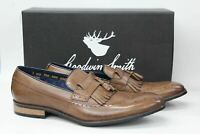 GOODWIN SMITH Men's Liberty Tan Brown Fringed Loafer Shoes UK11 EU45 NEW
